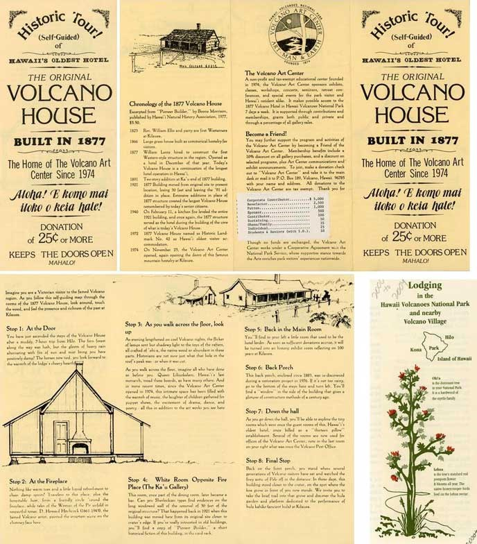 Volcano House publication