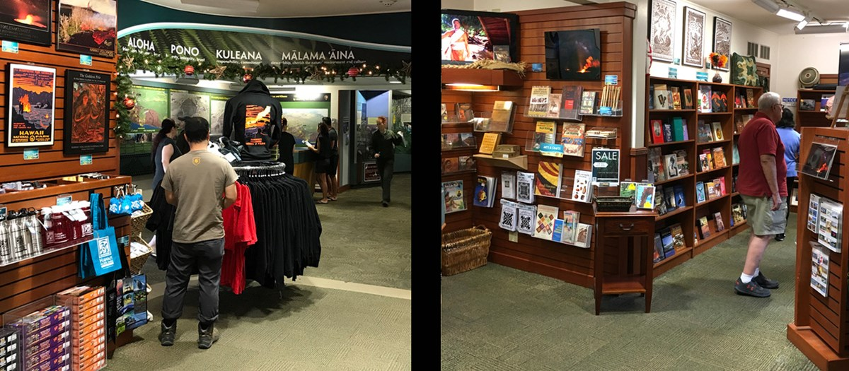 Retail store of the Hawaiʻi Pacific Parks Association