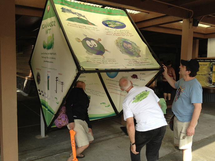 Climate Friendly Family Exhibit
