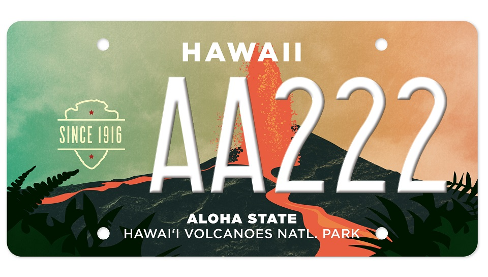 National Park Specialty State License Plates Available at