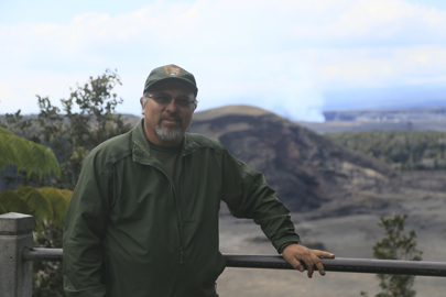 Harold Mulliken at Kilauea Iki Overlook5