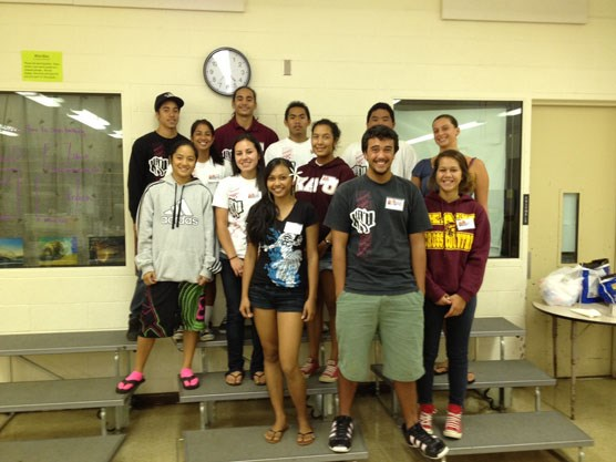 Kaʻū High School YIP participants
