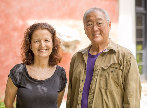 October Artists in Residence, Noreen Naughton and Byron Yasui