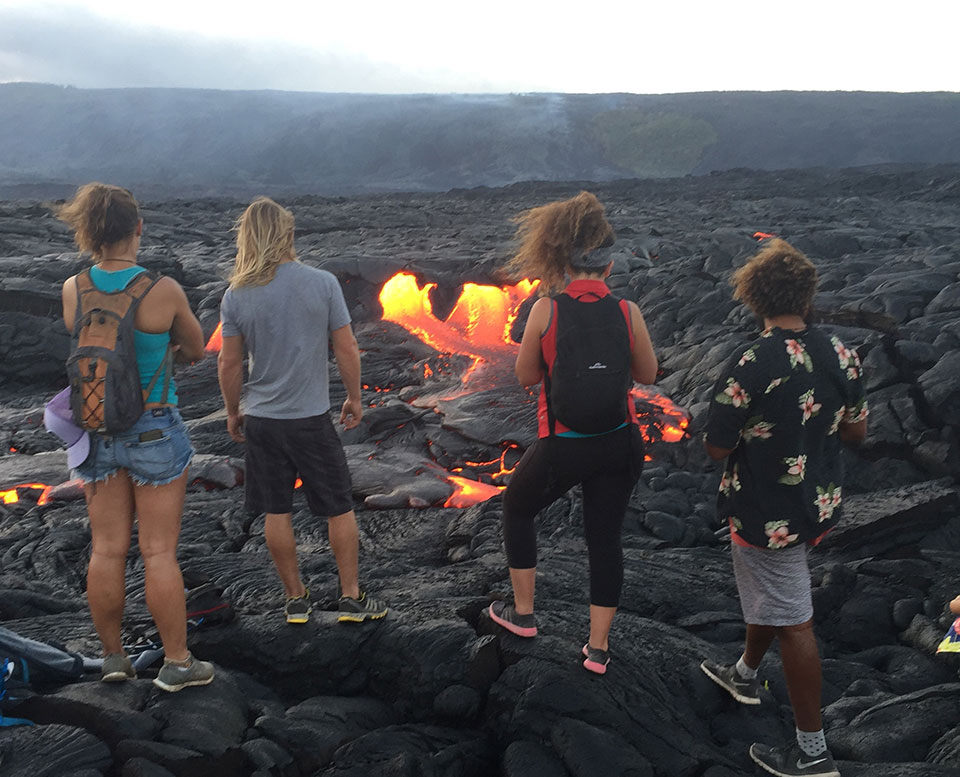 Flow Chart Tips: Park Offers Route and Tips for Viewing Lava Flows - Hawai7i ,Chart