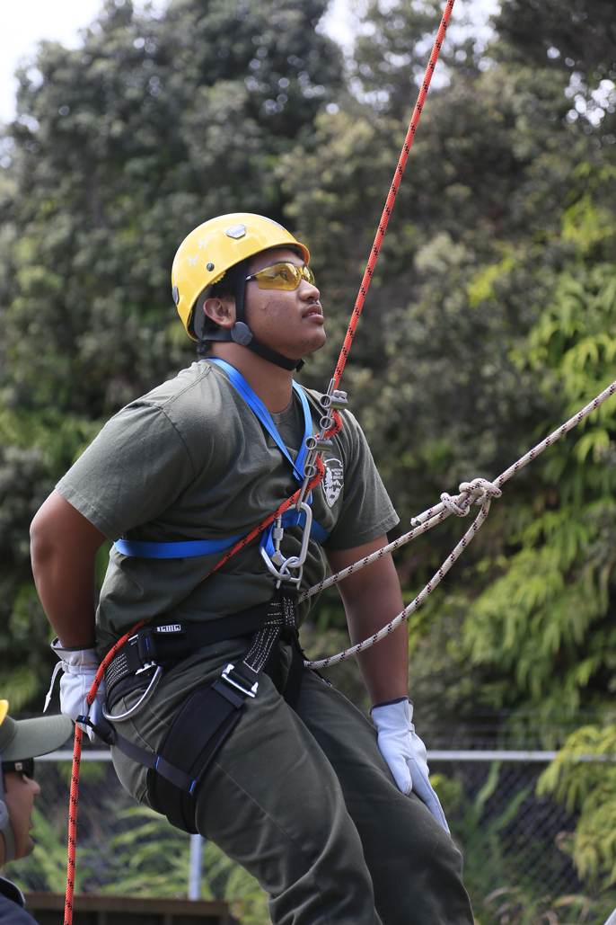 Youth Ranger Fernando Ramangmou training for SAR_686