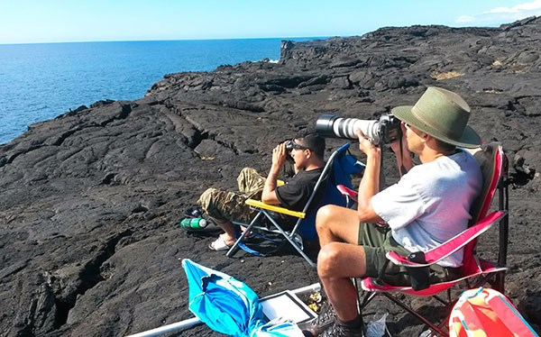 Looking for Whales-2015 Sanctuary Ocean Count Ka'ena Point