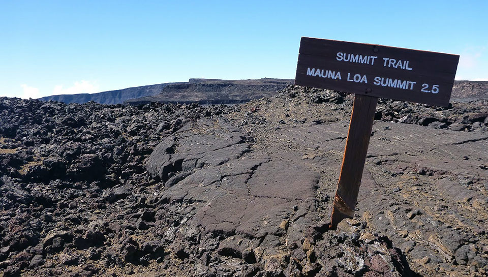 Mauna Loa Trail - 2.5 Miles to the Summit
