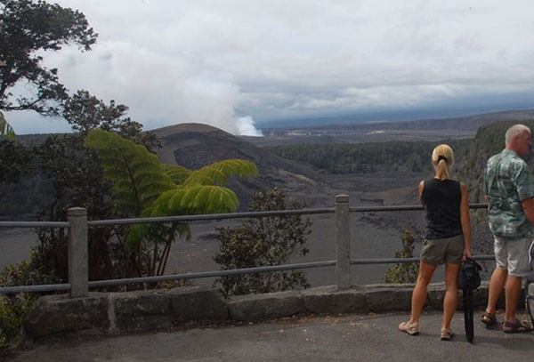 kīlauea iki overlook hawaii volcanoes national park u