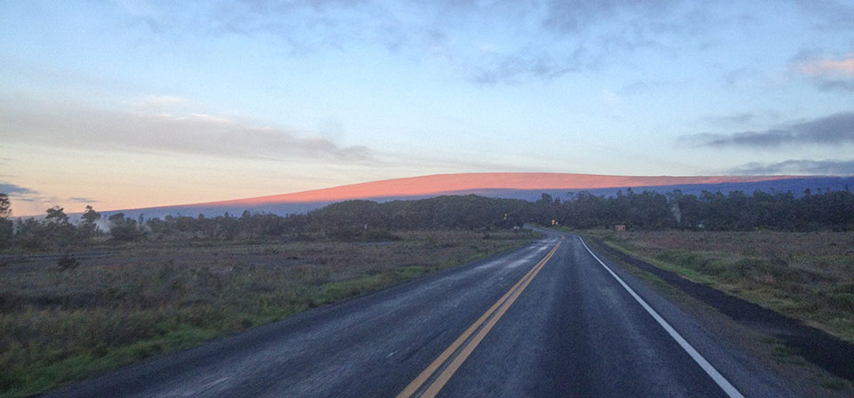 Sunrise on Mauna Loa