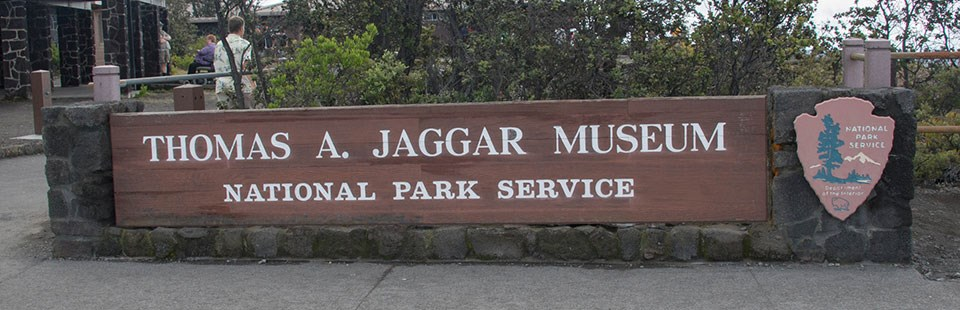 Jaggar Museum Sign