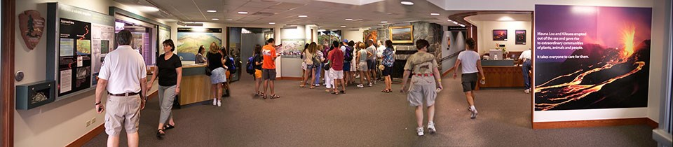 Kīlauea Visitor Center Lobby