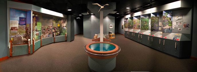 Kīlauea Visitor Center Exhibits