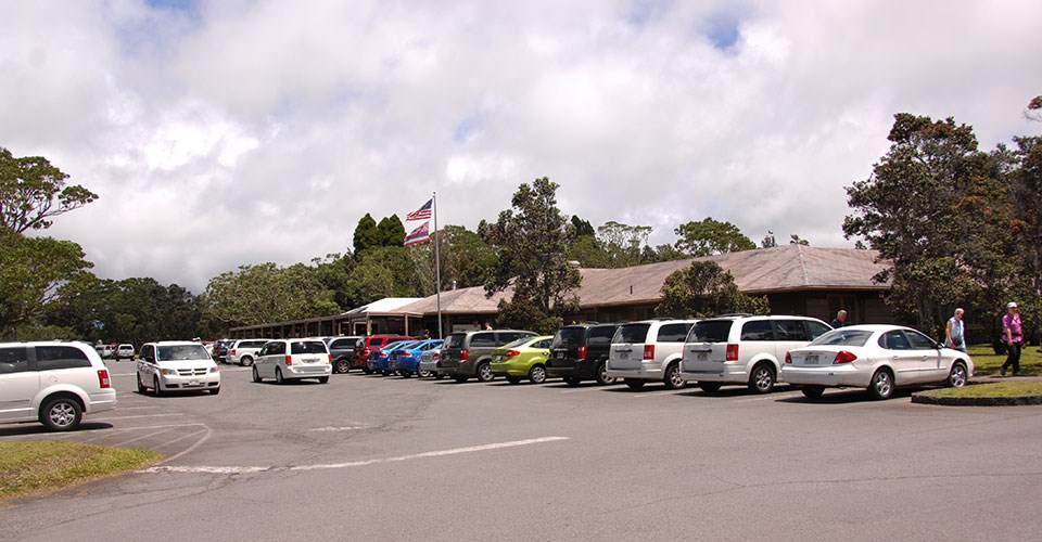 Kīlauea Visitor Center Parking Congestion