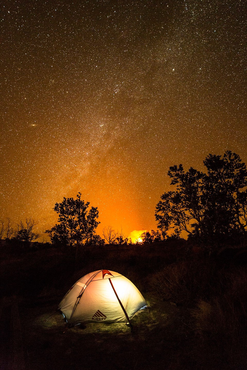 Campgrounds Hawai I Volcanoes National Park U S