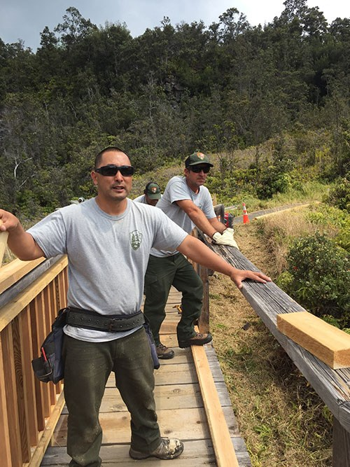 Sulphur Banks Boardwalk Repairwork