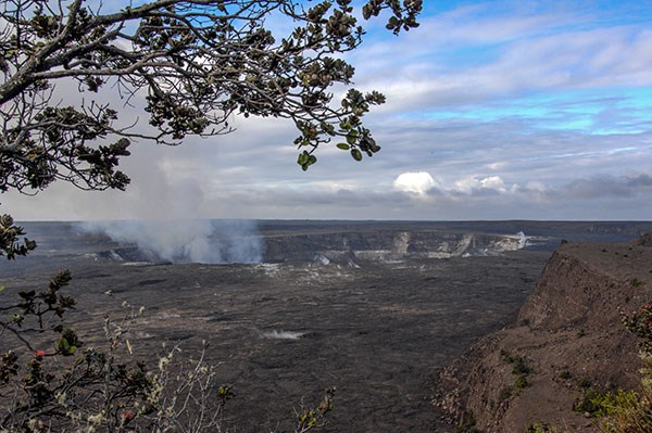 Photo Taken from Kīlauea Overlook