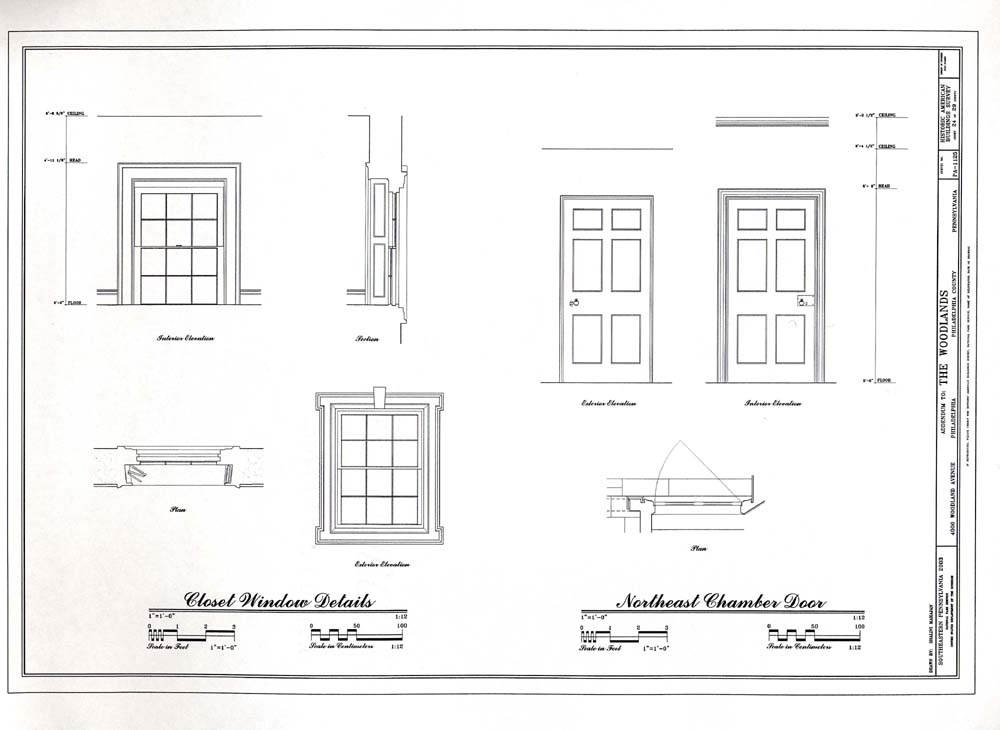 ... Drawing Room Window Details  sc 1 st  National Park Service : drawing door - pezcame.com