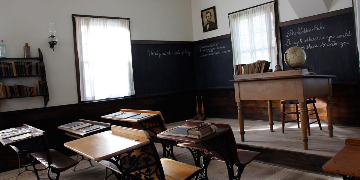 Schoolhouse Herbert Hoover National Historic Site U S