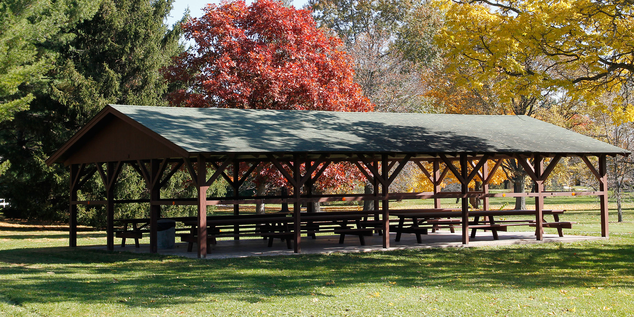 Picnic Shelters Herbert Hoover National Historic Site U S