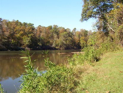 Tallapoosa River in Horseshoe Bend NMP