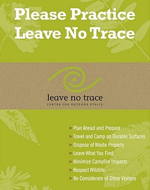 7 Leave No Trace Principles