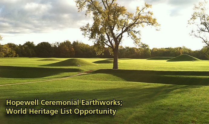 Click to read the full Hopewell Ceremonial Earthworks submission for the Tentative List