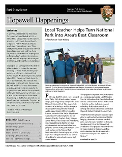 2011 Hopewell Happenings Cover