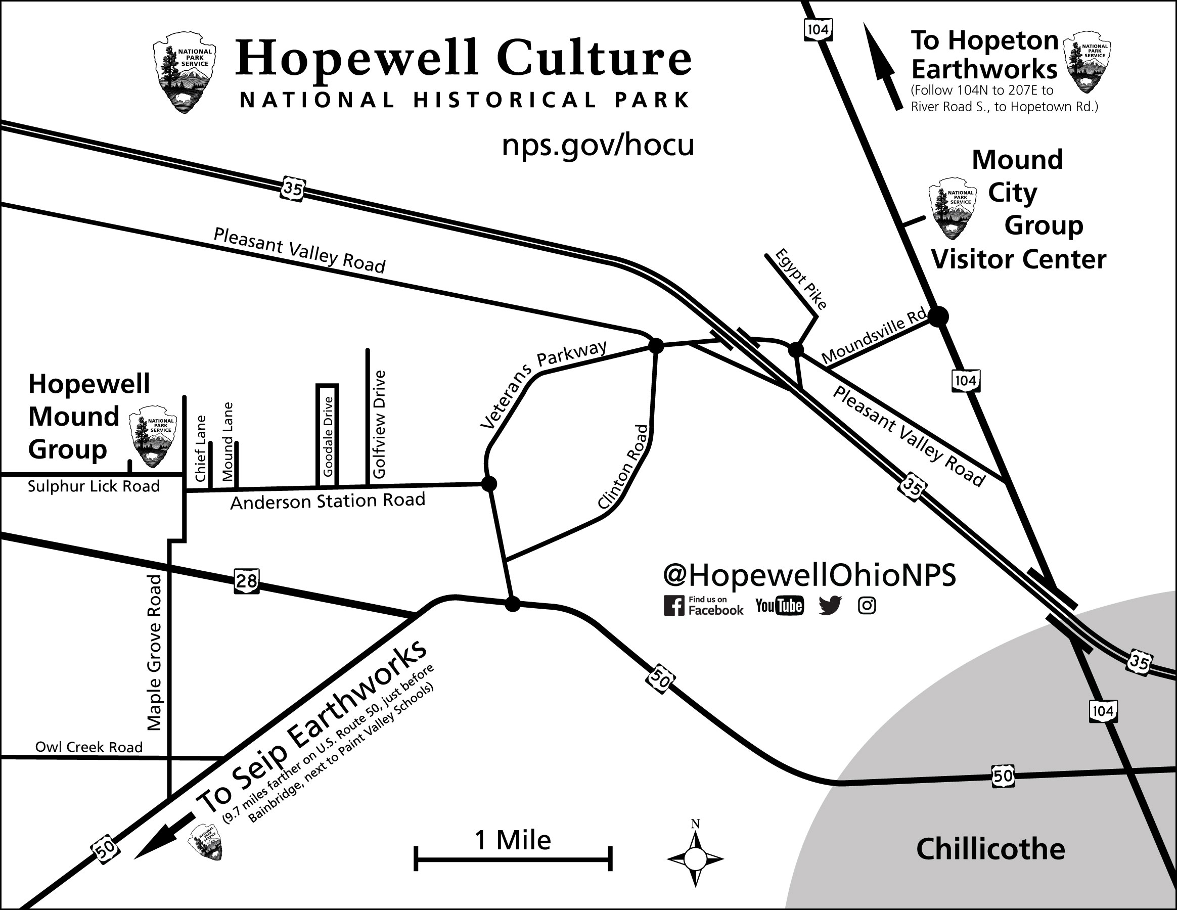 Directions - Hopewell Culture National Historical Park (U S