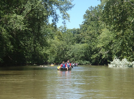 Prehistoric Paddle on Paint Creek