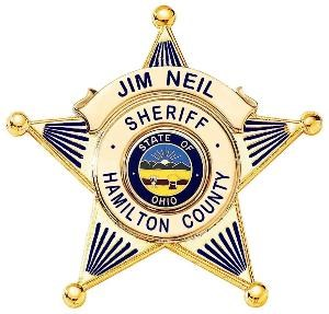 Hamilton Co. Sheriff Badge