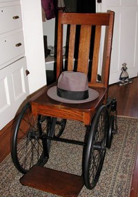 FDR 's wheelchair