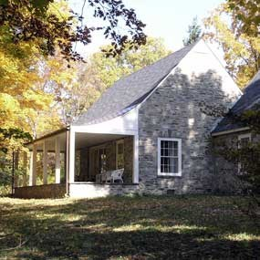 Top Cottage was FDR's retreat home