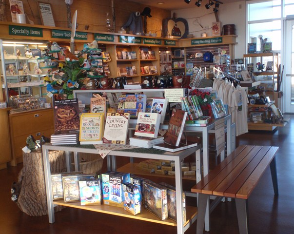 Heritage Center bookstore