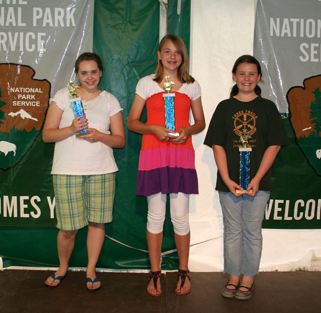 1st Place: Cecilia Cook 2nd Place: Emmi Moll 3rd Place: Makayla Urbauer