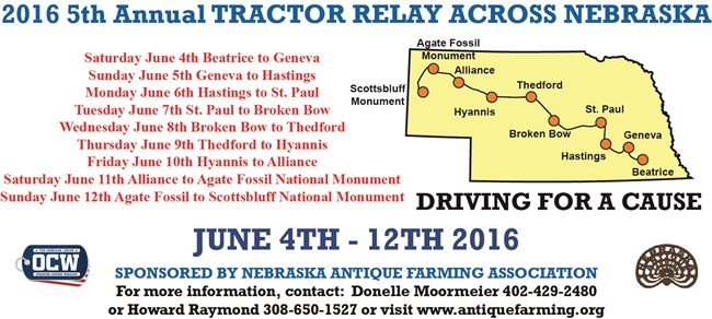Tractor Relay Map