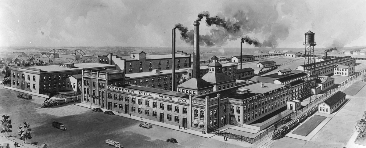 Sketch of the Dempster Mill