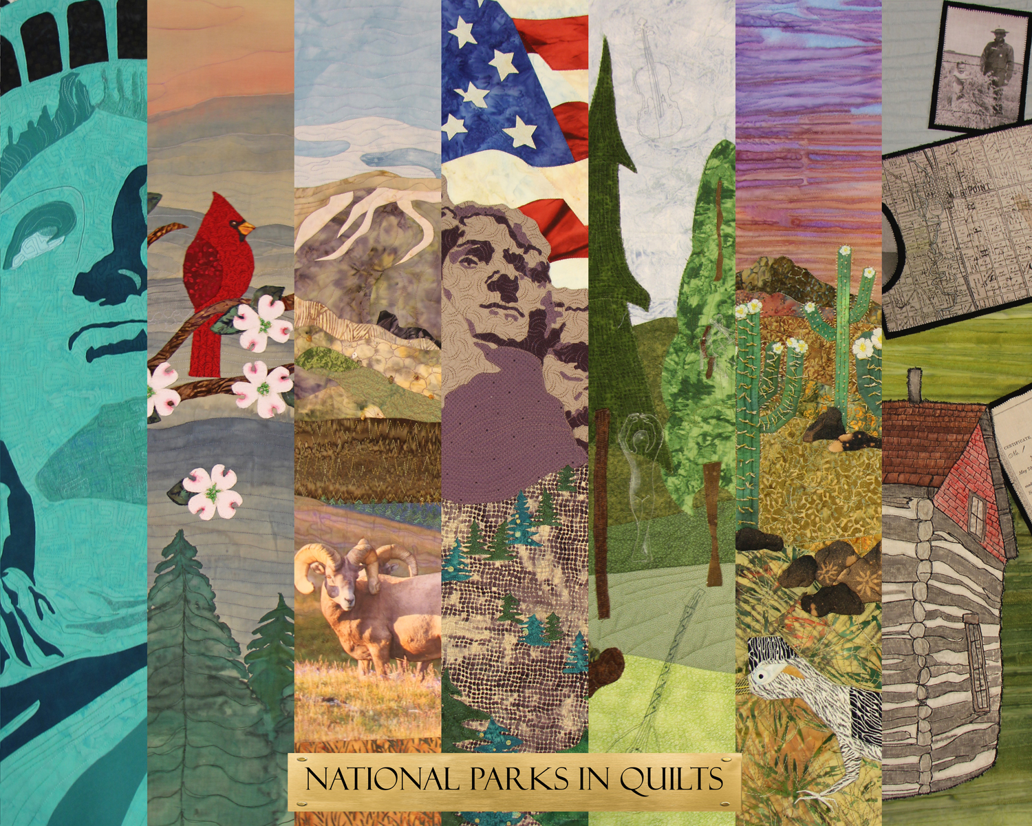 National Parks in Quilts