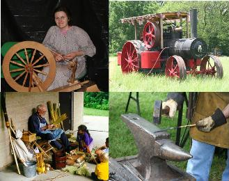 Homestead Days demonstrations
