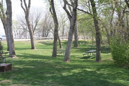 Picnic area near Education Center