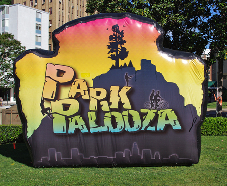 ParkPalooza sign