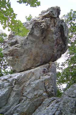 Balanced Rock Trail Hot Springs National Park US National Park