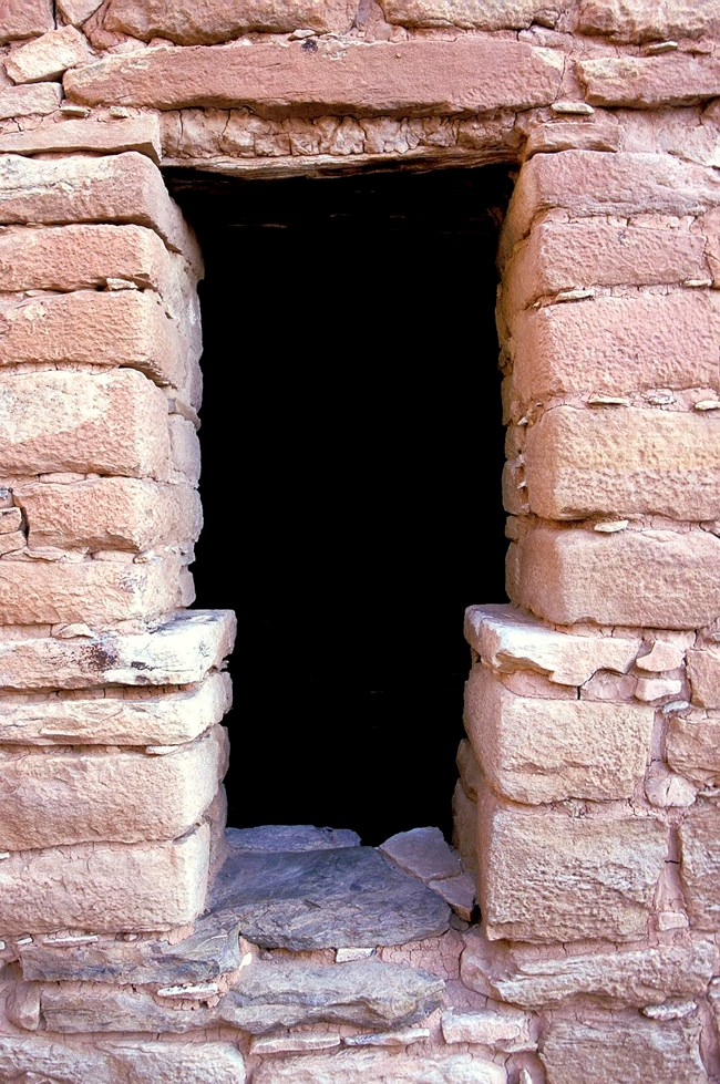 Door to Ancestral Puebloan Structure