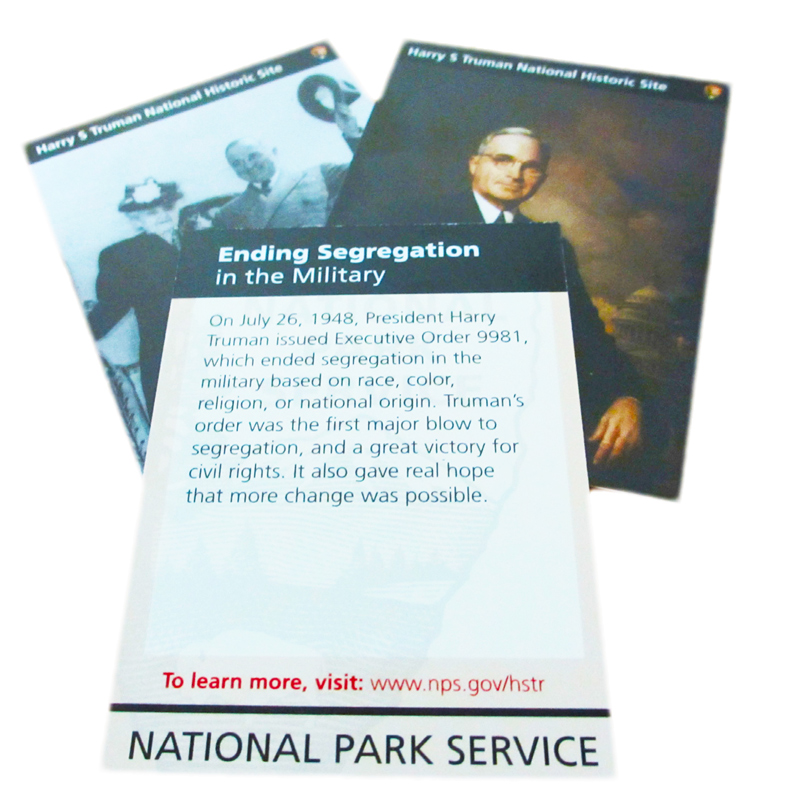 NPS Civil War to Civil Rights Trading Cards