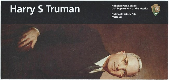 Cover Image of official portrait of President Harry Truman