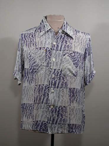 Sport shirt, Tropical Prints by McCoy. HSTR 17403.