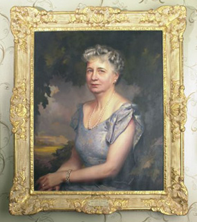 Bess Truman's First Lady portrait.
