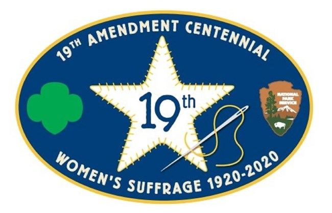 Girl Scout 19th Amendment Patch