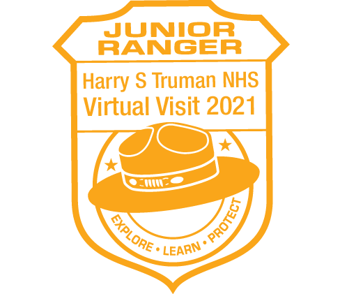 Junior Ranger Stamp, 2021!