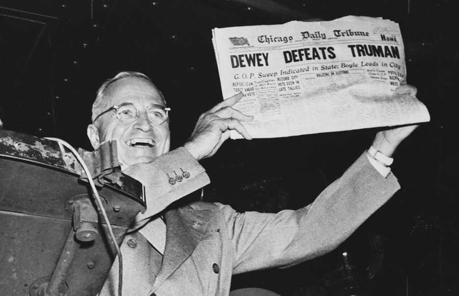 Harry Truman in the news...