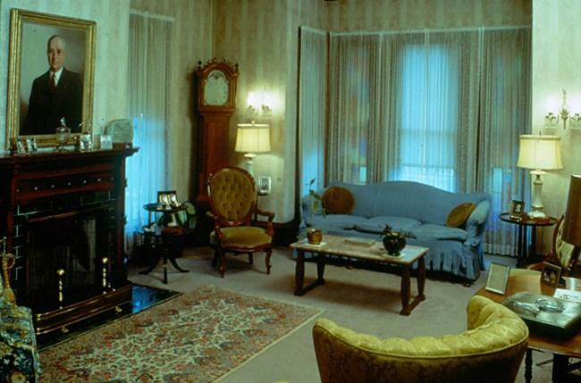 The Living Room of the Truman Home